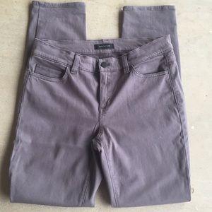 Ann Taylor The Skinny Modern Fit Gray Stretch Jean